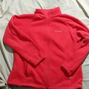 Columbia Zip Up Fleece Jacket NWOT